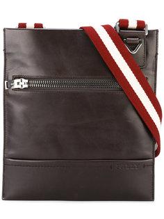 сумка-почтальонка с лямкой в полоску Bally