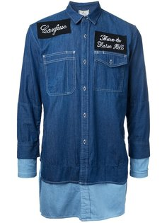 джинсовая рубашка  Maison Mihara Yasuhiro