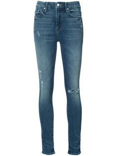 high-rise skinny jeans Mother