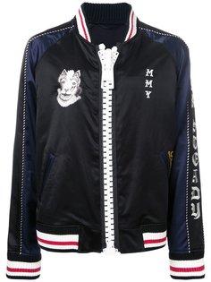 куртка-бомбер на молнии Maison Mihara Yasuhiro