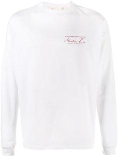 logo long sleeved t-shirt Martine Rose