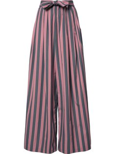 Wide Stripe Long Karate trousers Tome