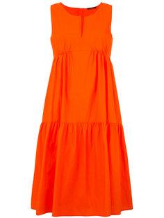 платье с оборками Odeeh
