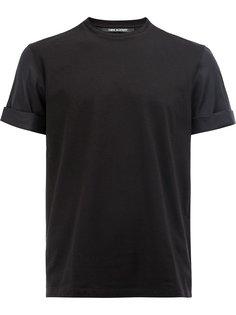 футболка с подвернутыми манжетами Neil Barrett