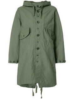 buttoned military coat Engineered Garments