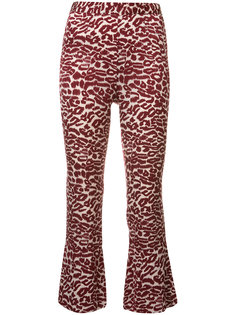 printed cropped trousers  Piamita