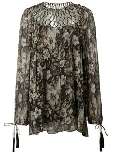 Gossamer Lattice blouse  Zimmermann