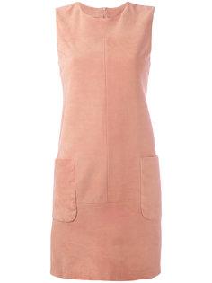 платье с накладными карманами Drome