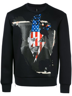 Marther Luther King sweatshirt Neil Barrett