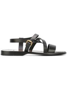 multi-strap sandals Silvano Sassetti