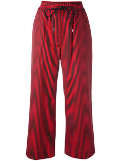 striped cropped trousers 3.1 Phillip Lim