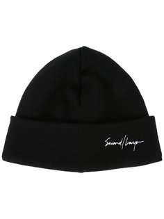 embroidered signatura beanie Second/Layer