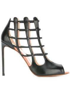 cell bars motif sandals Francesco Russo