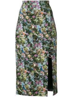 floral print pencil skirt  Cushnie Et Ochs