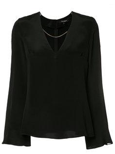 v-neck blouse  Cushnie Et Ochs