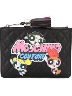 клатч Powerpuff Girls  Moschino