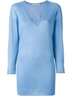 свитер c V-образным вырезом  Agnona