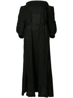 Mira flounce dress Lisa Marie Fernandez