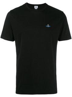 футболка с заплаткой в виде космического корабля  Vivienne Westwood Man