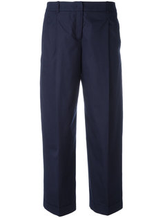 cropped trousers  Jil Sander Navy