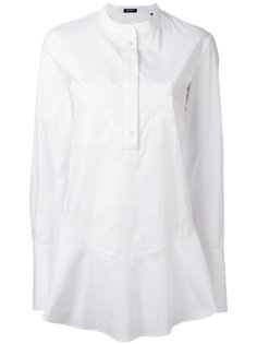 flared hem shirt  Jil Sander Navy