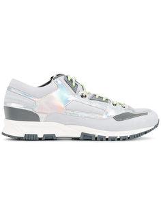 кроссовки с перламутровыми панелями Lanvin