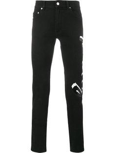 джинсы с принтом Kenzo