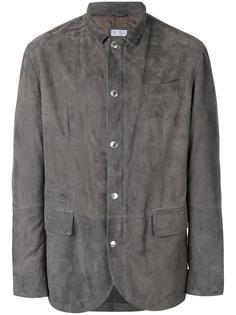 замшевый пиджак  Brunello Cucinelli