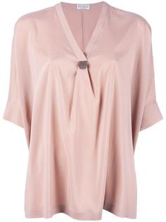 расклешенная блузка  Brunello Cucinelli