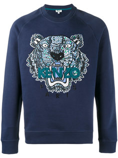 tiger printed sweatshirt Kenzo