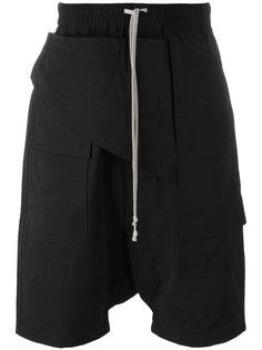 drawstring drop-crotch shorts  Rick Owens DRKSHDW