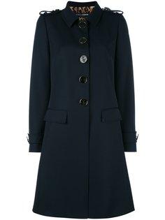 пальто с погонами  Dolce & Gabbana