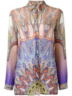 рубашка с узором Indian  Etro
