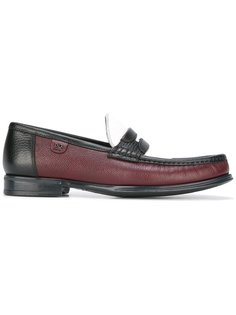 brushed leather loafers Dolce & Gabbana