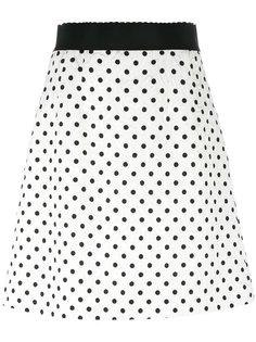 юбка в горошек  Dolce & Gabbana
