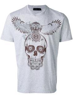 футболка с принтом черепа Etro