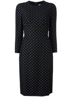 платье с узором из звезд Givenchy