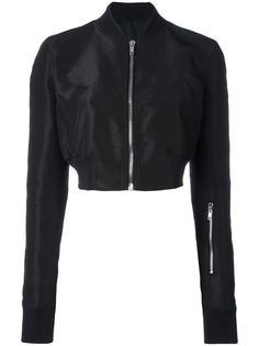 укороченная куртка-бомбер Glitter  Rick Owens