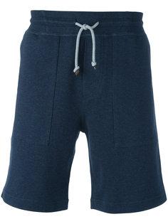 спортивные шорты на шнурке Brunello Cucinelli
