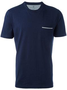 футболка с карманом Brunello Cucinelli