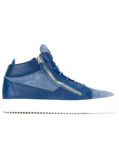 кроссовки хайтопы Giuseppe Zanotti Design