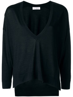 loose fit V-neck jumper Brunello Cucinelli