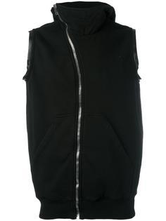 толстовка на молнии с капюшоном Rick Owens DRKSHDW
