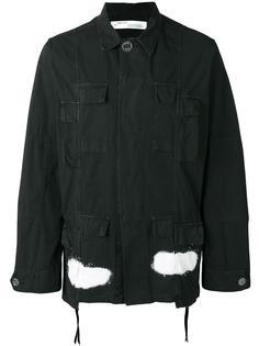 куртка с полосами на спине Off-White