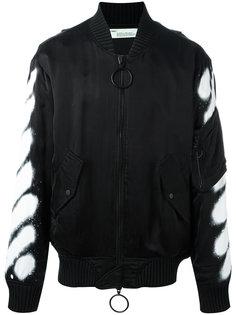 spray bomber jacket  Off-White