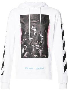 Diag Caravaggio hoodie Off-White