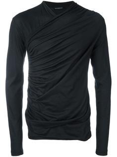 wrap front sweatshirt Balmain