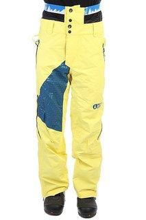 Штаны сноубордические Picture Organic Advance Yellow