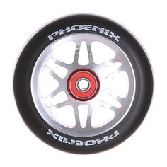 Колесо для самоката Phoenix F6 Alloy Core Wheel 110mm With Abec 9 Bearings Red/Black