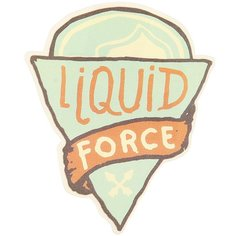 Наклейка Liquid Force Pizza Sticker Assorted